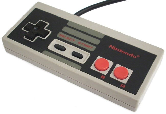 Nintendo Entertainment System Rückansicht