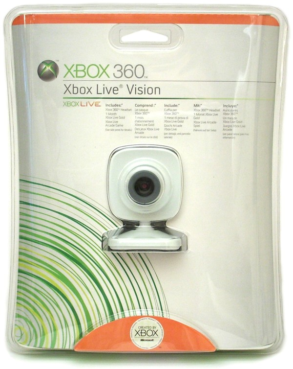 Xbox 360 Live Vision